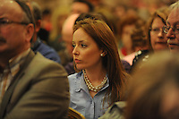Susan Fitzgerald , Newbridge, Co. Kildare at the INTO annual Congress 2010 in the Salthill Hotel Galway. Photo:Andrew Downes
