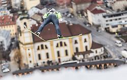 03.01.2014, Bergisel Schanze, Innsbruck, AUT, FIS Ski Sprung Weltcup, 62. Vierschanzentournee, Training, im Bild Taku Takeuchi (JPN) // Taku Takeuchi (JPN) during practice Jump of 62nd Four Hills Tournament of FIS Ski Jumping World Cup at the Bergisel Schanze, Innsbruck, <br /> Austria on 2014/01/03. EXPA Pictures © 2014, PhotoCredit: EXPA/ JFK
