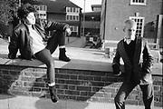 Neville and Kelly, Town Hall, High Wycombe, UK, 1980s.