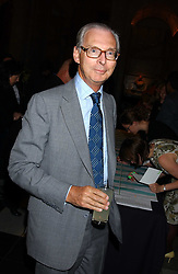 The HON.SIR TIM SAINSBURY at the opening of a new exhibition 'Diane Arbus Revelations' a major retospective of the Legendary New York Photographer at the V&A museum on 11th October 2005.<br />