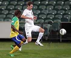 Auckland-Football- New Zealand v Solomon Islands