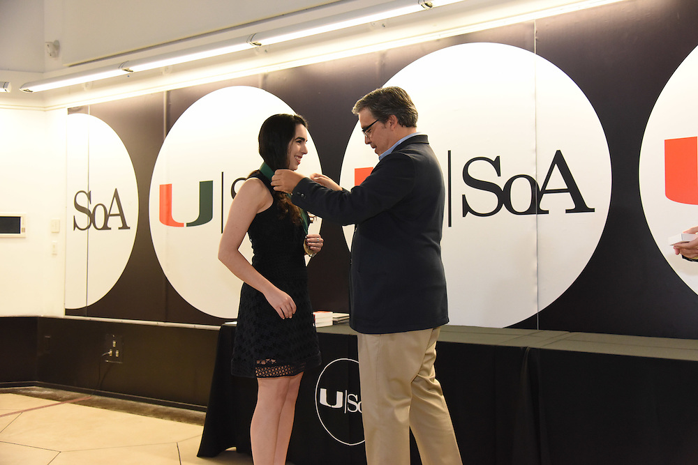 University of Miami School of Architecture Honors Day