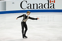 KELOWNA, BC - OCTOBER 26: Latvian figure skater Deniss Vasiljevs competes during the men's long program / free skate of Skate Canada International held at Prospera Place on October 26, 2019 in Kelowna, Canada. (Photo by Marissa Baecker/Shoot the Breeze)