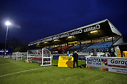 Gander Green Lane Main Stand during the Vanarama National League match between Sutton United and Forest Green Rovers at Gander Green Lane, Sutton, United Kingdom on 14 March 2017. Photo by Adam Rivers.