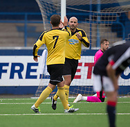 Cove's Paul McManis celebrates after opening the scoring - Cove Rangers v Dundee under 20s pre-seson friendly at Links Park, Montrose, Photo: David Young<br /> <br />  - &copy; David Young - www.davidyoungphoto.co.uk - email: davidyoungphoto@gmail.com