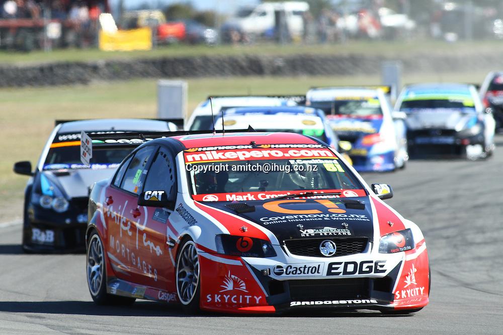 Fabian Coulthard winner of Round 2, Powerbuilt Tools Raceway, Ruapuna Park