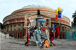 Cirque du Soleil at The Royal Albert Hall. <br /> Cirque du Soleil announce the production of Quidram at The Royal Albert Hall, London, United Kingdom. Tuesday, 17th September 2013. Picture by Ben Stevens / i-Images