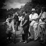 London. UK - hyde park, speaker corner / hyde park , le coin des orateurs
