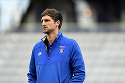 Bath Assistant Coach Luke Charteris looks on during the pre-match warm-up - Mandatory byline: Patrick Khachfe/JMP - 07966 386802 - 15/12/2019 - RUGBY UNION - Stade Marcel-Michelin - Clermont-Ferrand, France - Clermont Auvergne v Bath Rugby - Heineken Champions Cup