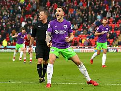 Josh Brownhill of Bristol City celebrates scoring a goal to make it 2-2 - Mandatory by-line: Robbie Stephenson/JMP - 30/03/2018 - FOOTBALL - Oakwell Stadium - Barnsley, England - Barnsley v Bristol City - Sky Bet Championship