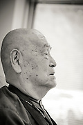 The Japanese monk Surai Sasai, on August 30 Surai Sasai is going to be 80 years old.<br /> Photo by Christina Sj&ouml;gren
