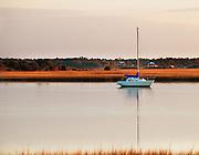 Lone Sail Boat