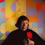 Iconic Philadelphia painter Edna Andraid.