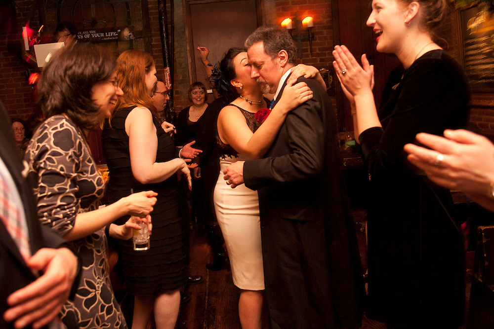 Jessica and Paul's Wedding.  January 15, 2011.  Swift's Hibernian Lounge, NYC.