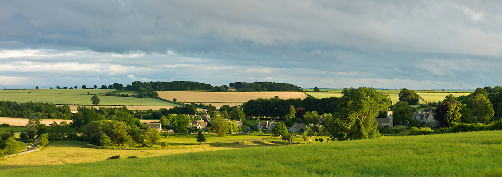 Village of Asthall in The Cotswolds, Oxfordshire, England