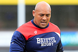 Soane Tonga'uiha of Bristol Rugby - Mandatory by-line: Ian Smith/JMP - 20/08/2016 - RUGBY - BT Sport Cardiff Arms Park - Cardiff, Wales - Cardiff Blues v Bristol Rugby - Pre-season friendly