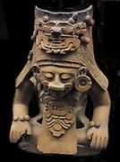 Funery urn, Zapotec 200BC-800AD.