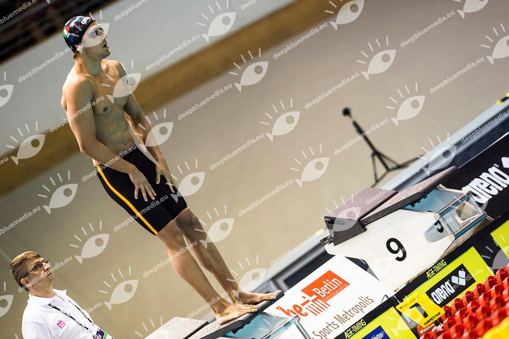 Leonardi Luca ITA<br /> 4x100m Freestyle Men Heats<br /> 32nd LEN European Championships <br /> Berlin, Germany 2014  Aug.13 th - Aug. 24 th<br /> Day06 - Aug. 18<br /> Photo G. Scala/Deepbluemedia/Inside