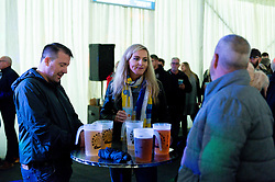 Exeter Chiefs fans in the Pow Wow Bar Tent - Mandatory by-line: Ryan Hiscott/JMP - 12/10/2019 - RUGBY - Sandy Park - Exeter, England - Exeter Chiefs v Bristol Bears - Premiership Rugby Cup