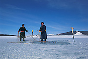 Dark hard men ice fishing<br /> Dark had Depression<br /> Mongolia