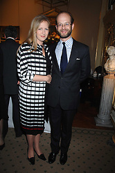 LORD NICHOLAS WINDSOR and his wife PRINCESS PAOLO FRANKOPAN at a private view of portraits, Still-Lives and Statues by artists Barbara Kaczmarowska Hamilton and Simon Boudard held at Partridge Fine Art Ltd, New Bond Street, London on 16th May 2007.<br /><br />NON EXCLUSIVE - WORLD RIGHTS