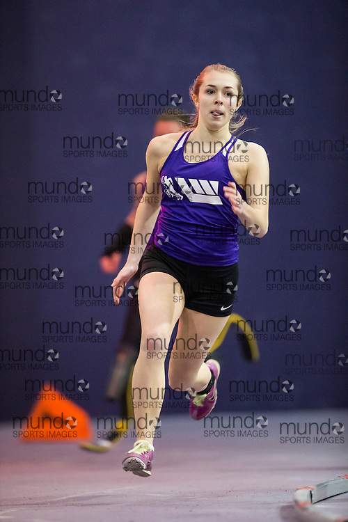 competes at theSTL-LW All Comers Meet # 2 in London, Ontario, Saturday, January 24, 2015.<br /> Mundo Sport Images/ Geoff Robins