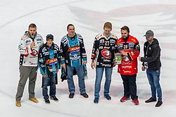 18.11.2018, Ice Rink, Znojmo, CZE, EBEL, HC Orli Znojmo vs EHC Liwest Black Wings Linz, 20. Runde, im Bild Fans // during the Erste Bank Eishockey League 20th round match between HC Orli Znojmo and EHC Liwest Black Wings Linz at the Ice Rink in Znojmo, Czechia on 2018/11/18. EXPA Pictures © 2018, PhotoCredit: EXPA/ Rostislav Pfeffer
