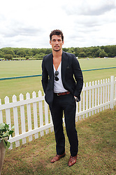 Asprey World Class Cup polo held at Hurtwood Park Polo Club, Ewhurst, Surrey on 17th July 2010.<br /> Picture shows:- DAVID GANDY