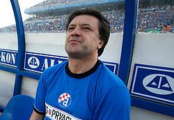 Zdravko Mamic, director of Dinamo during football match between NK Dinamo and NK Hajduk of last game of 1st Croatian league, on May 13, 2006, in Zagreb, Croatia. Photo by Vid Ponikvar /  Sportida.com.