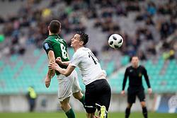 during football match between NK Olimpija Ljubljana and NK Rudar in Round #23 of Prva Liga Telekom Slovenije 2017/18, on March 14, 2018 in Arena Stozice, Ljubljana, Slovenia. Photo by Urban Urbanc / Sportida