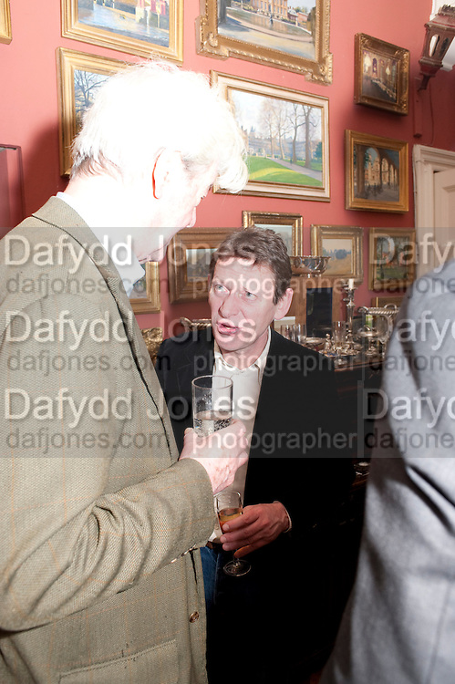 GILLON AITKEN; RORY KNIGHT-BRUCE, Party to celebrate the publication of Animal Magic by Andrew Barrow. Tite St. London. 28 February 2011.  -DO NOT ARCHIVE-© Copyright Photograph by Dafydd Jones. 248 Clapham Rd. London SW9 0PZ. Tel 0207 820 0771. www.dafjones.com.