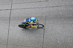 Olha Kulynych at UCI Road World Championships Junior Women's Individual Time Trial 2017 a 16.1 km time trial in Bergen, Norway on September 18, 2017. (Photo by Sean Robinson/Velofocus)