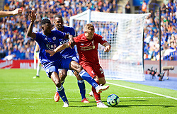 LEICESTER, ENGLAND - Saturday, September 1, 2018: Liverpool's Xherdan Shaqiri during the FA Premier League match between Leicester City and Liverpool at the King Power Stadium. (Pic by David Rawcliffe/Propaganda)