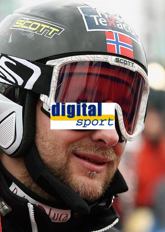 Alpint 26. november 2005 , <br />  Kjetil Andre Aamodt (Norwegen) -<br /> Weltcup 2005/2006, Welt Cup, Worldcup, World, WC, Abfahrt, Ski Alpin, Skisport Lake Louise Alpiner <br /> Norway only