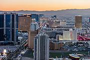Aerial view of the Strip, Las Vegas, Nevada, USA