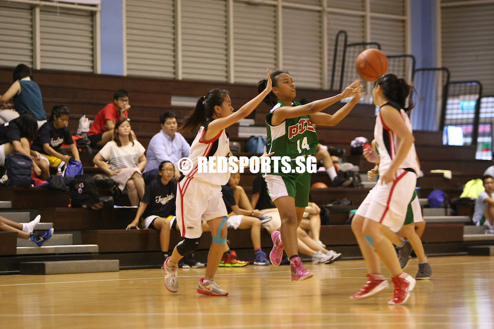 Singapore Basketball Centre, Wednesday, February 20, 2013 &ndash; It was a comfortable 40-27 win over Yishun Secondary for Ahmad Ibrahim Secondary in Round 2 of the North Zone B Division Girls&rsquo; Basketball Championship.<br />