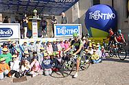 39° Giro del Trentino Melinda, 4° tappa Malè Cles,Moreno Moser,24 aprile 2015 © foto Daniele Mosna