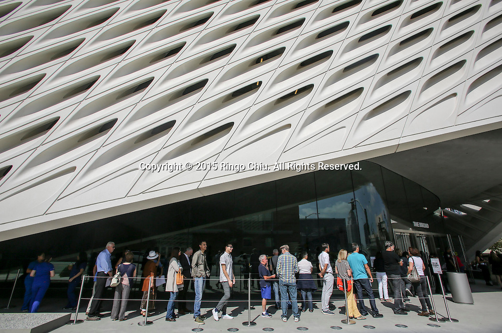 The Broad Museum in downtown Los Angeles.