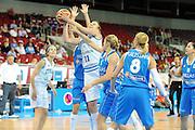 DESCRIZIONE : Riga Latvia Lettonia Eurobasket Women 2009 final 5th-6th Place Italia Grecia Italy Greece<br /> GIOCATORE : Katherin Ress<br /> SQUADRA : Italia Italy<br /> EVENTO : Eurobasket Women 2009 Campionati Europei Donne 2009 <br /> GARA : Italia Grecia Italy Greece<br /> DATA : 20/06/2009 <br /> CATEGORIA : tiro<br /> SPORT : Pallacanestro <br /> AUTORE : Agenzia Ciamillo-Castoria/M.Marchi<br /> Galleria : Eurobasket Women 2009 <br /> Fotonotizia : Riga Latvia Lettonia Eurobasket Women 2009 final 5th-6th Place Italia Grecia Italy Greece<br /> Predefinita :