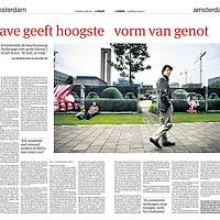 Parool 22 juni 2013: filosoof Ad Verbrugge