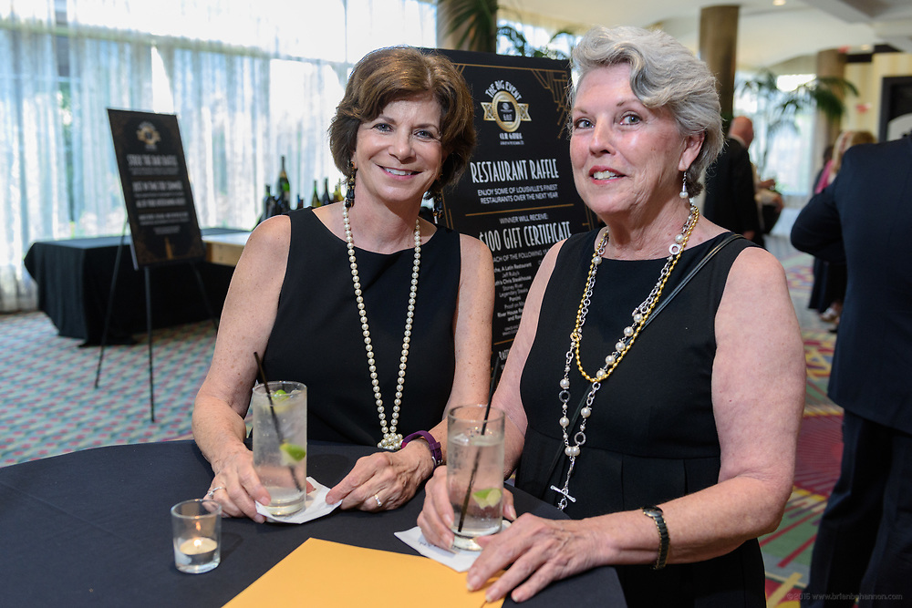 "The Boys & Girls Clubs of Kentuckiana (BGCK) host ""The Big Event – Club Gatsby: A Night in the Roaring 20s"" fundraiser presented by Brown-Forman Saturday, June 10, 2017 at the Louisville Marriott Downtown, which included a silent and live auction, cocktails and dinner. Black tie attire was optional and 20s themed attire encouraged. (Photo by Brian Bohannon)"