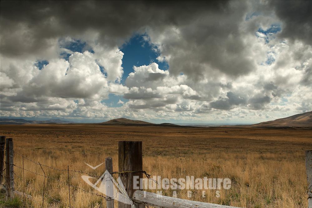 Range land landscape as a rain storm is ending, Nature Photography, Landscape Photography, Cloud Photograph, Wildlife Images, Fine Art Photographs, Home Photo Decor prints.