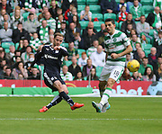 Dundee's Nick Ross and Celtic's Tomas Rogic  - Celtic v Dundee - Ladbrokes Premiership at Celtic Park<br /> <br /> <br />  - © David Young - www.davidyoungphoto.co.uk - email: davidyoungphoto@gmail.com