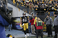 TOM DIPACE PHOTOGRAPHY&copy;2004<br /> 561-968-0600 <br /> Hines Ward<br /> Jets @ Steelers<br /> Divisional Playoffs<br /> 1-15-05<br /> BY TOM DIPACE&copy;