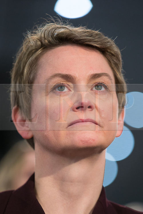 """© Licensed to London News Pictures . 01/03/2014 . London , UK . Yvette Cooper . The Labour Party hold a one day """" Special Conference """" at the Excel Centre in London today (Saturday 1st March 2014) . Photo credit : Joel Goodman/LNP"""
