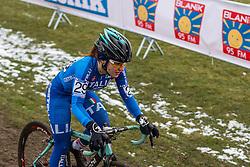 Chiara Teocchi (ITA), Women Elite, Cyclo-cross World Championships Tabor, Czech Republic, 31 January 2015, Photo by Pim Nijland / PelotonPhotos.com