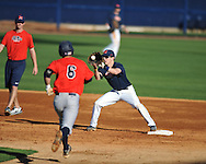 Ole Miss baseball practice at Oxford-University Stadium  in Oxford, Miss. on Thursday, February 2, 2012.
