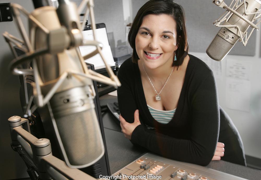 WOSU radio host Amy Juravich.(Jodi Miller/Alive)