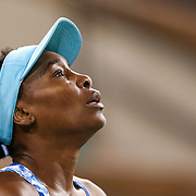 March 11, 2016, Palm Springs, CA:<br /> Venus Williams in action during a match against Kurumi Nara during the 2016 BNP Paribas Open at the Indian Wells Tennis Garden in Indian Wells, California Friday, March 11, 2016. It was her first return to the BNP Paribas Open in 15 years.<br /> (Photos by Billie Weiss/BNP Paribas Open)