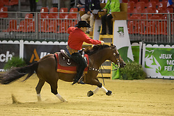 Piet Mestdagh, (BEL), RS Spat Mano War - Team Competition and 1st individual qualifying  - Alltech FEI World Equestrian Games™ 2014 - Normandy, France.<br /> © Hippo Foto Team - Dirk Caremans<br /> 25/06/14